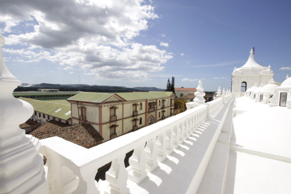 Rooftop Cathedral of León