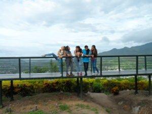 At El Calvario hill