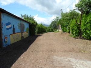 The school we'll be working at in Sor Maria