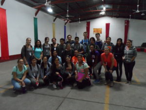 The group picture with Norman and the Academic Director from Hope Project Organization