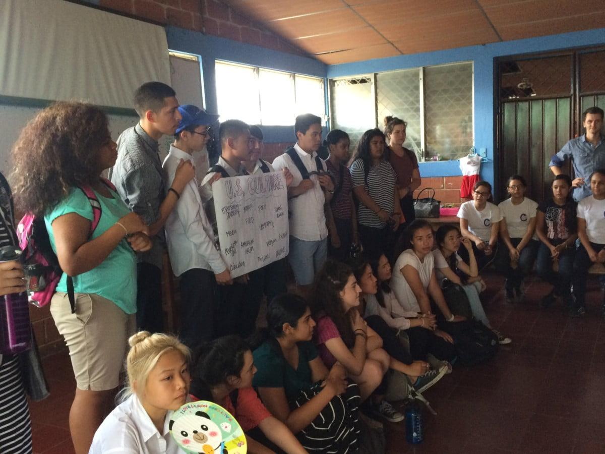 A Day as a Nicaraguan Student