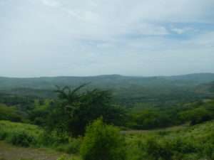 This was the view along the road as we took the bus from Managua to Matagalpa.