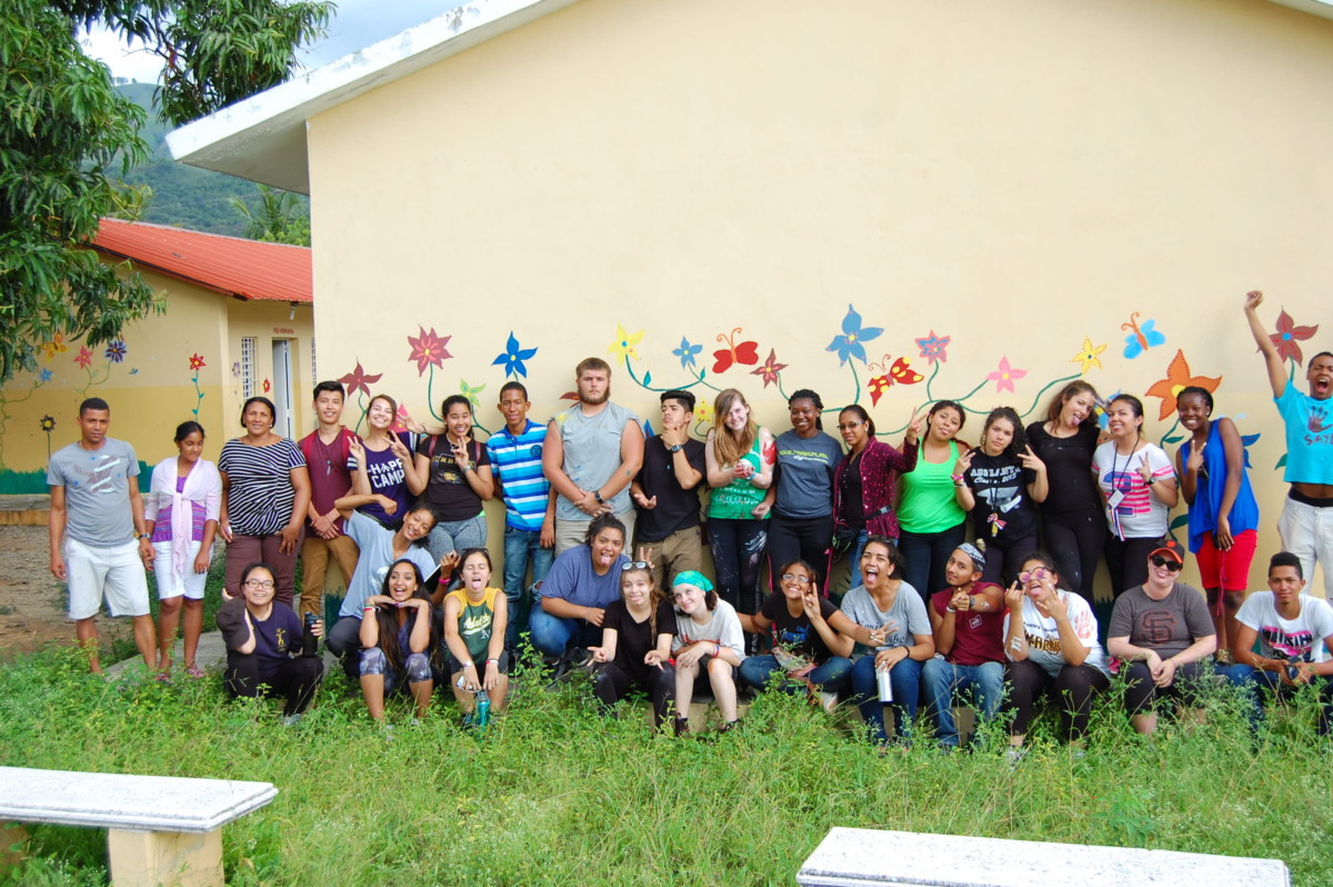 Finishing our Community Action Projects