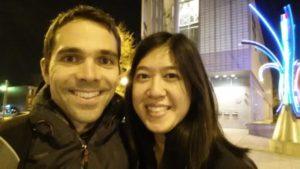 Daniel Tkach and Jacqueline Lee