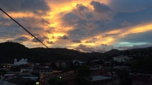 As a final farewell, Matagalpa gave us a beautiful sunset tonight.