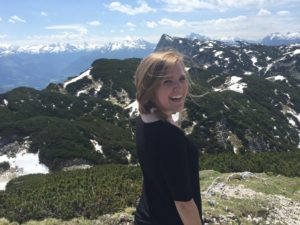 Here is a picture of me on top of Untersbergbahn Mountain in Austria.