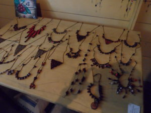 Jewelry made by mujeres de plomo