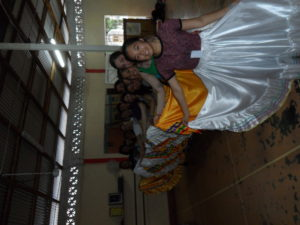 Traditional dance skirts