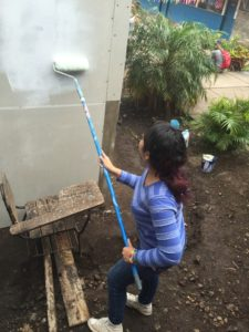 Jennifer putting in work!