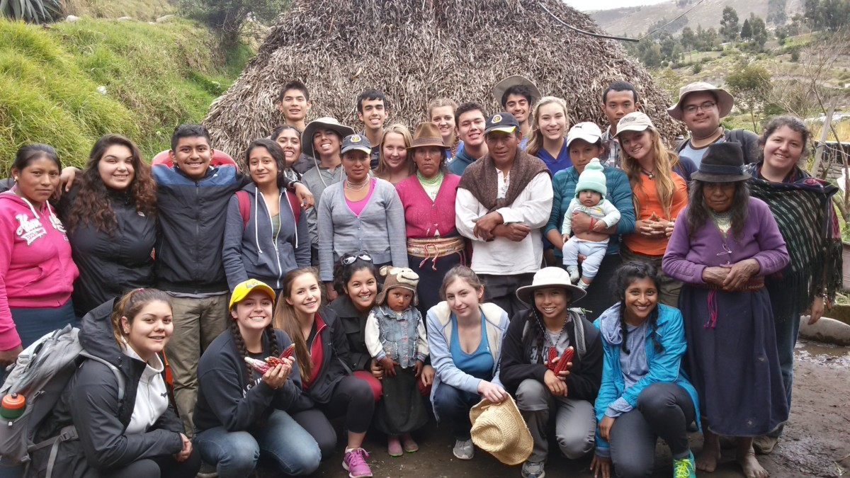 Student Travel Blog -  Exploring Indigenous World Views in Ecuador