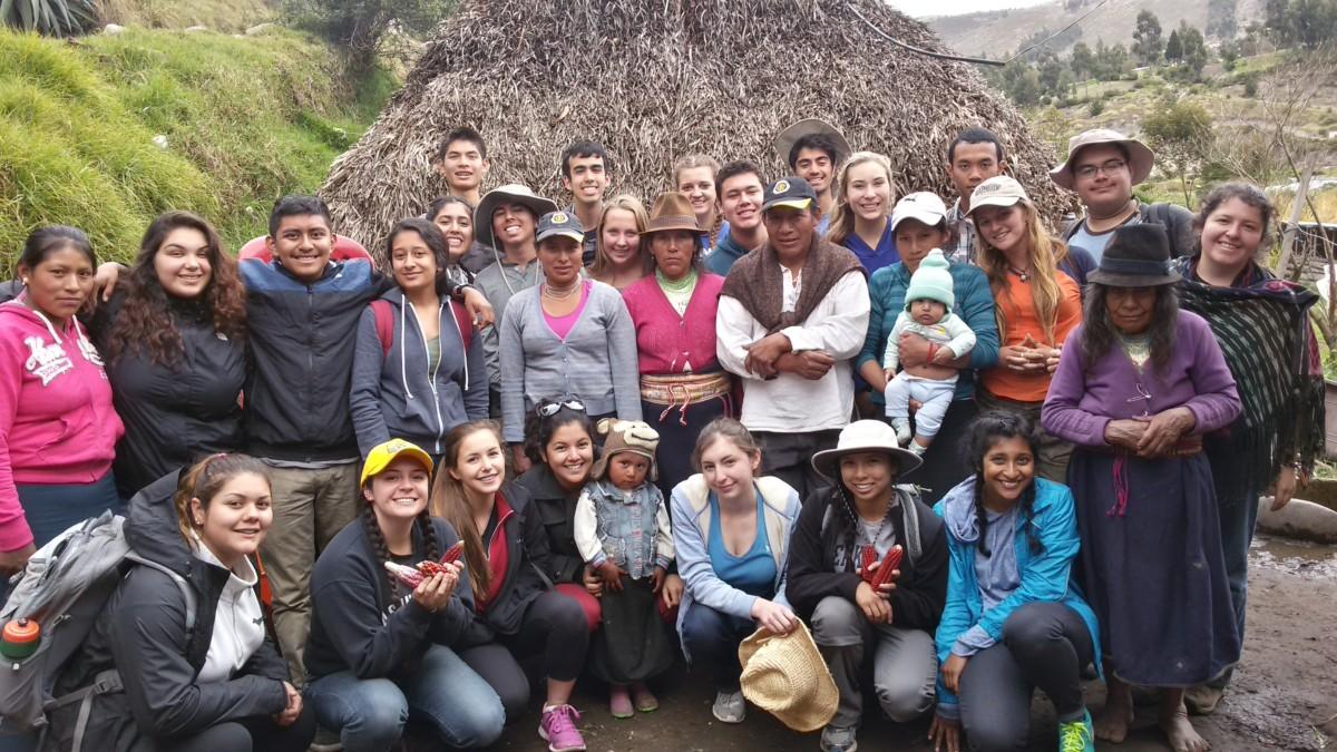 Student Travel Blog -  Exploring Indigenous World Views in Ecuador