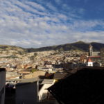 View from hotel in Quito